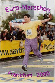 Zieleinlauf Marathon 2000